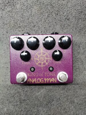 Analogman King of Tone V4 with Red Side High Gain Option